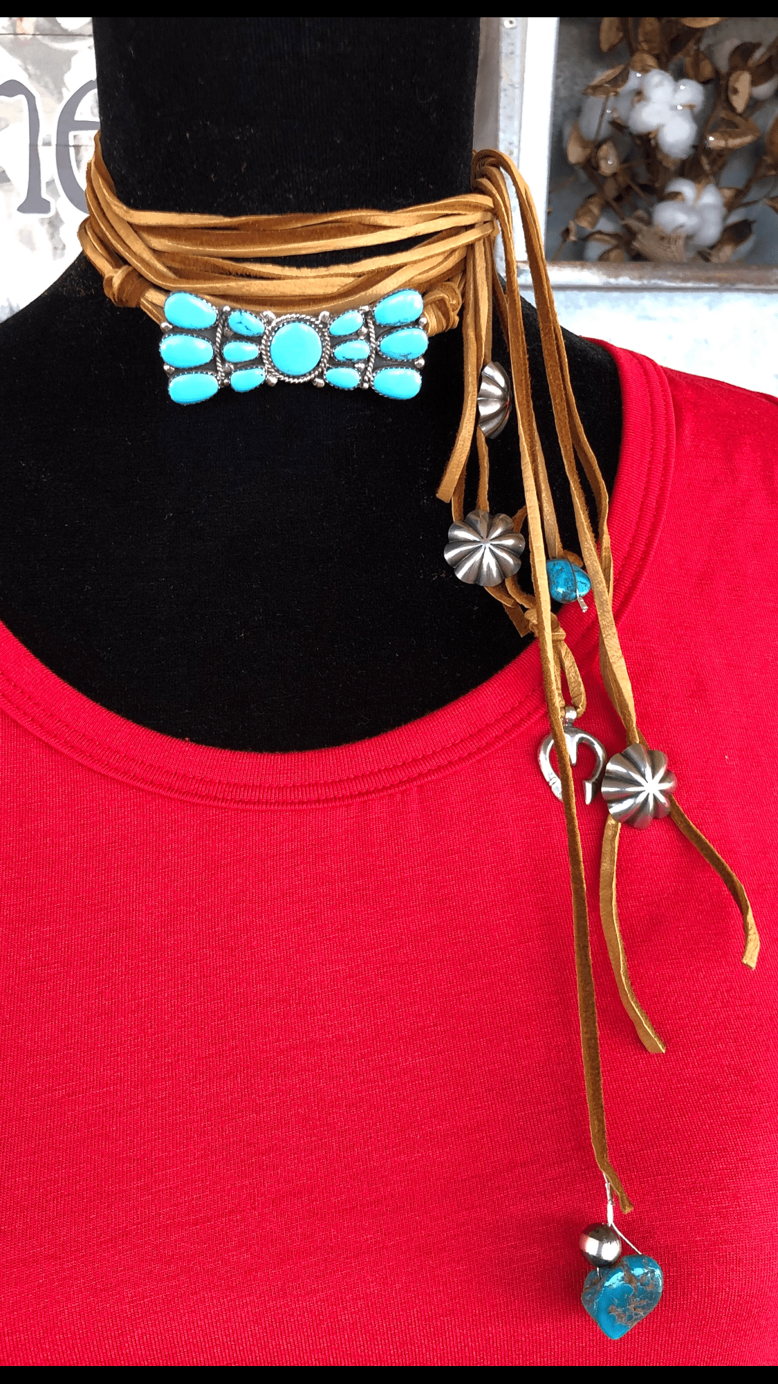 Chelsea Collette Bow Tie Wrap Necklace