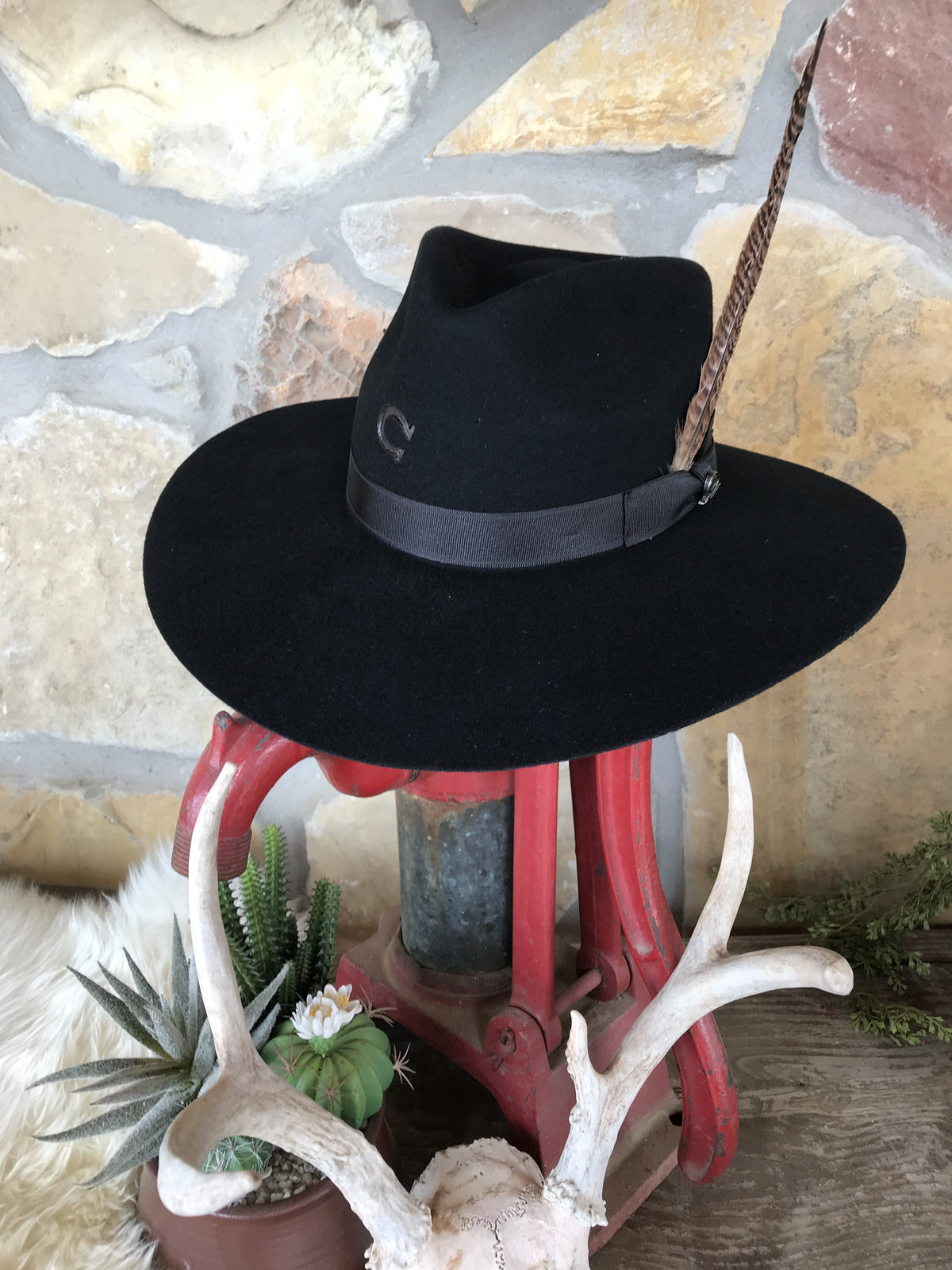 Charlie 1 Horse - Highway Hat In Black