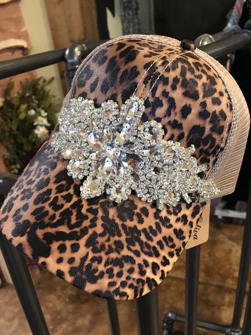 The Leopard Bling Hat