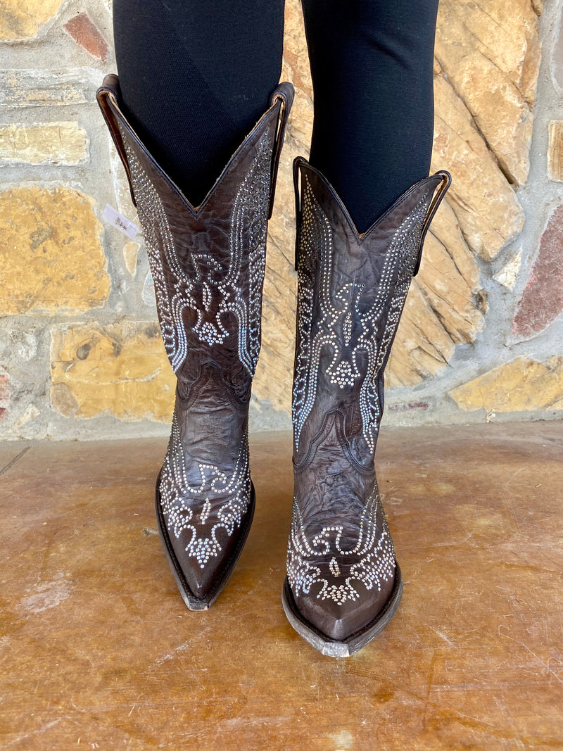 Old Gringo Eagle Swarovski Boot