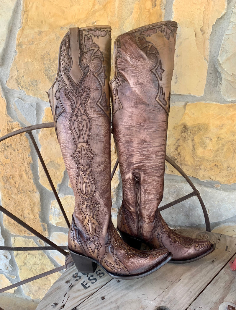 Corral Bronze Wonderwoman Boot