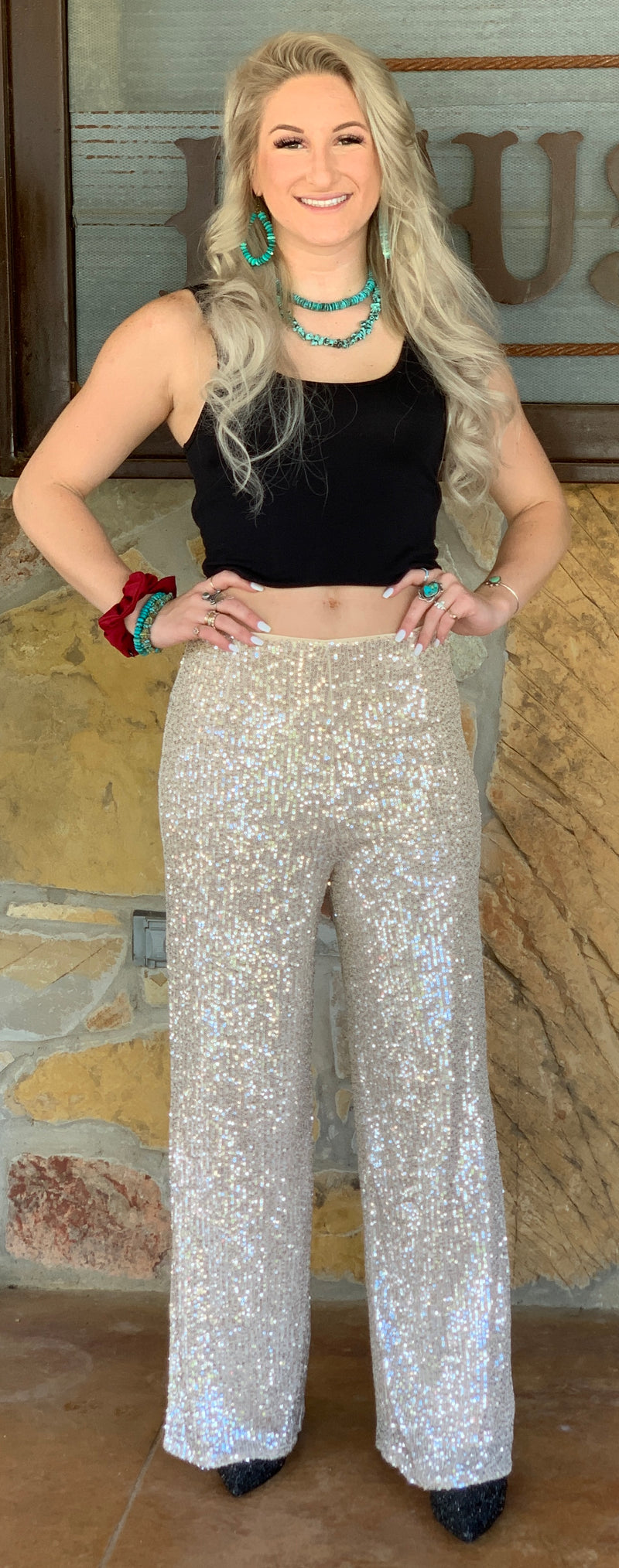 Viva Las Vegas Sequin Pants
