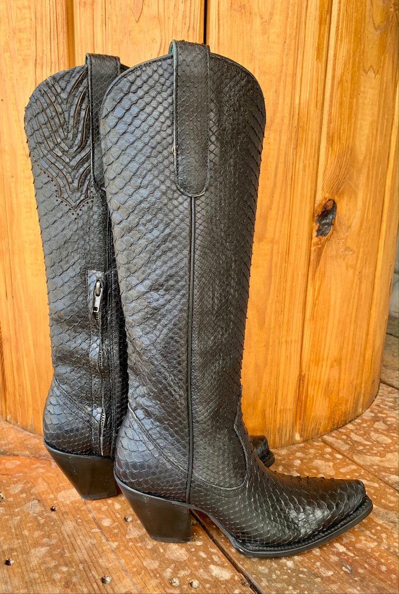 Corral Black Betty Boot-Tall