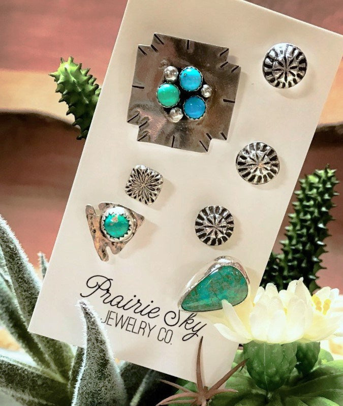 Prairie Sky Pin Set