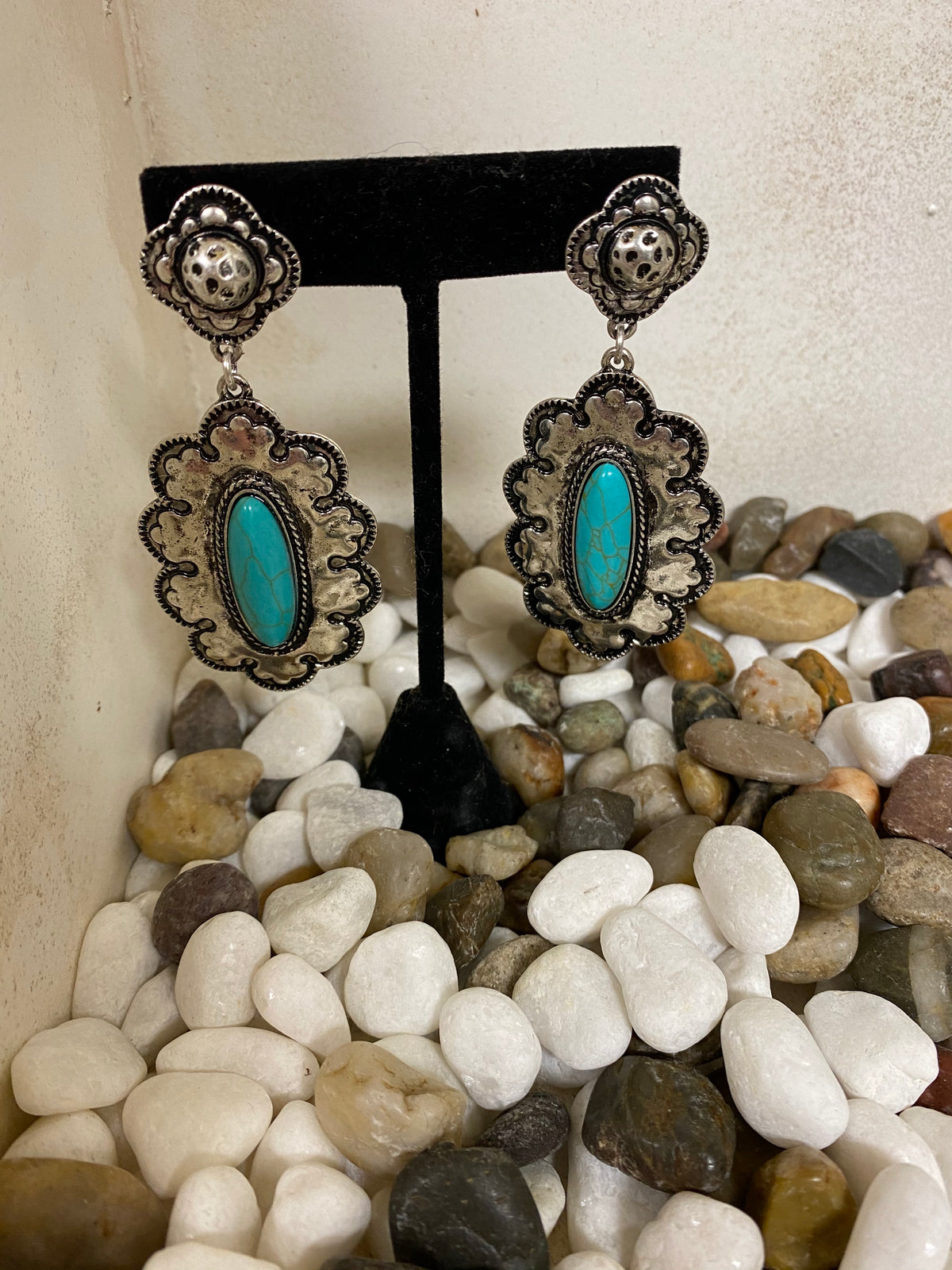 Zia Pueblo Turquoise Earrings