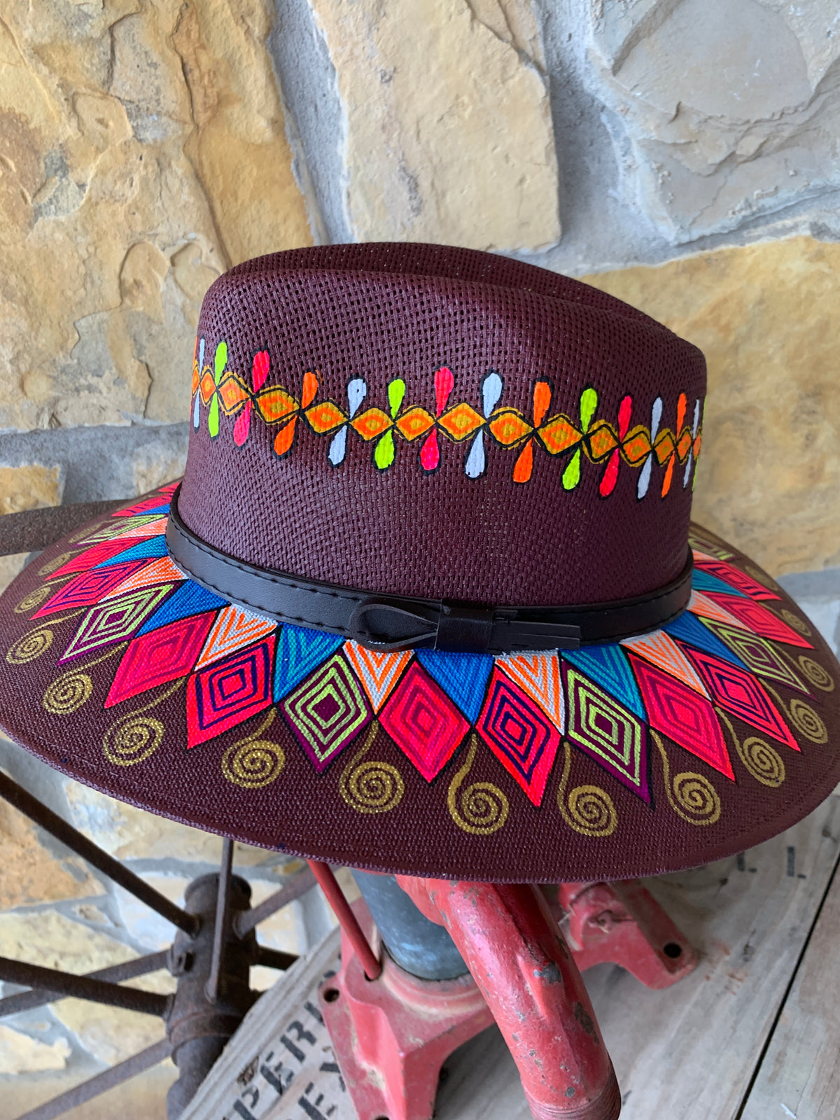 The Fiesta Painted Hat Collection