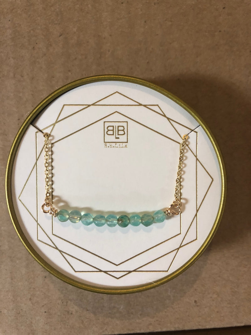 Mary Turquoise Necklace