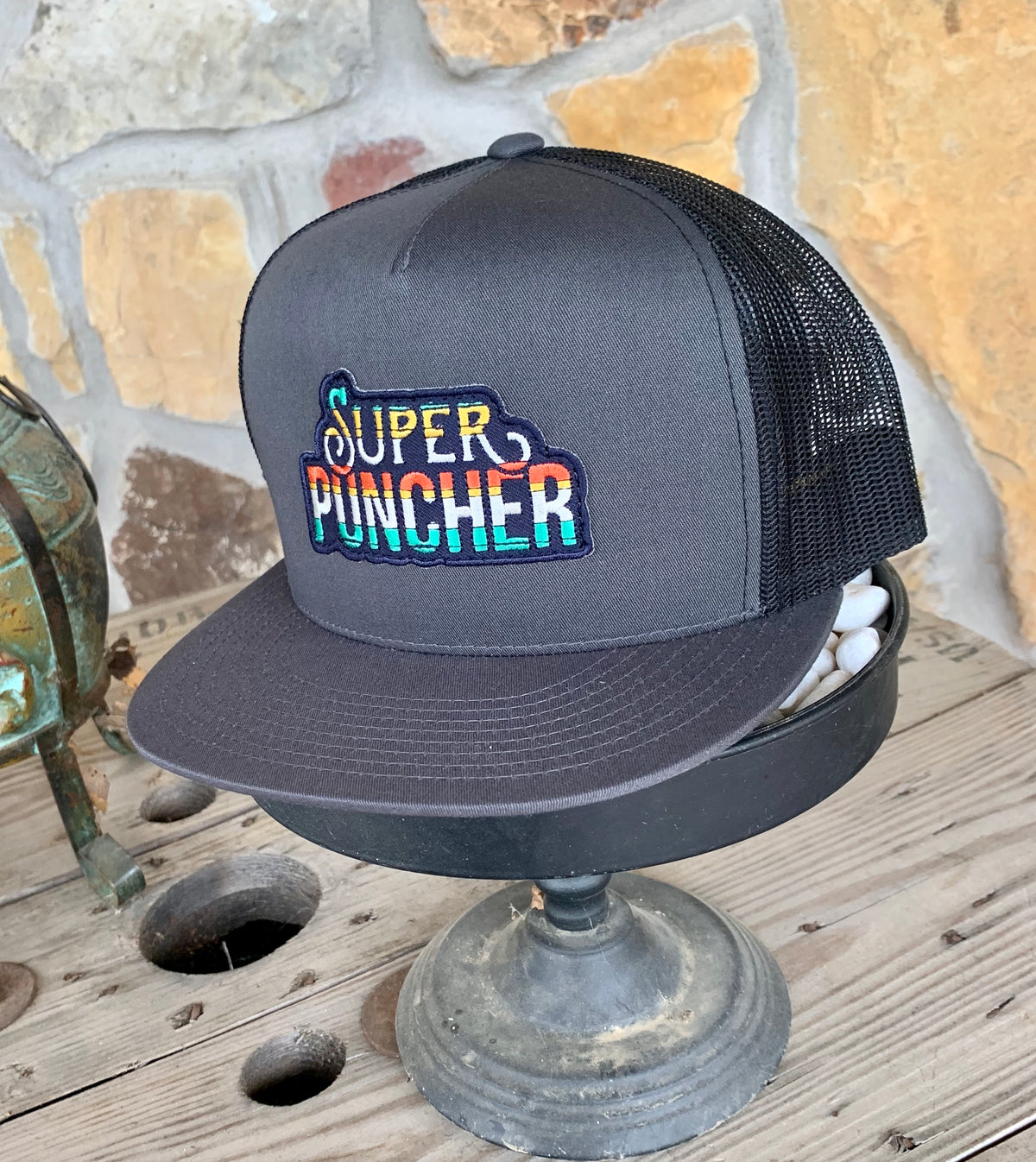Super Puncher Ball Cap by Dale Brisby