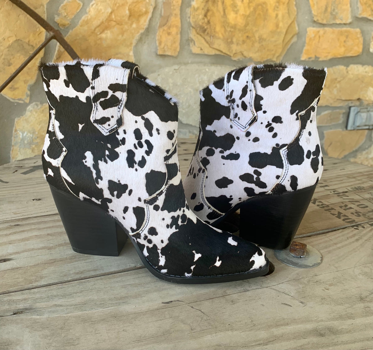 Bonnie Cow Booties