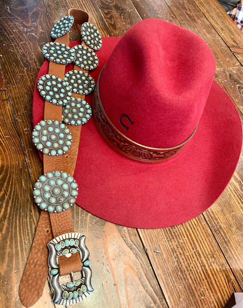 Double D Tio Concho Belt