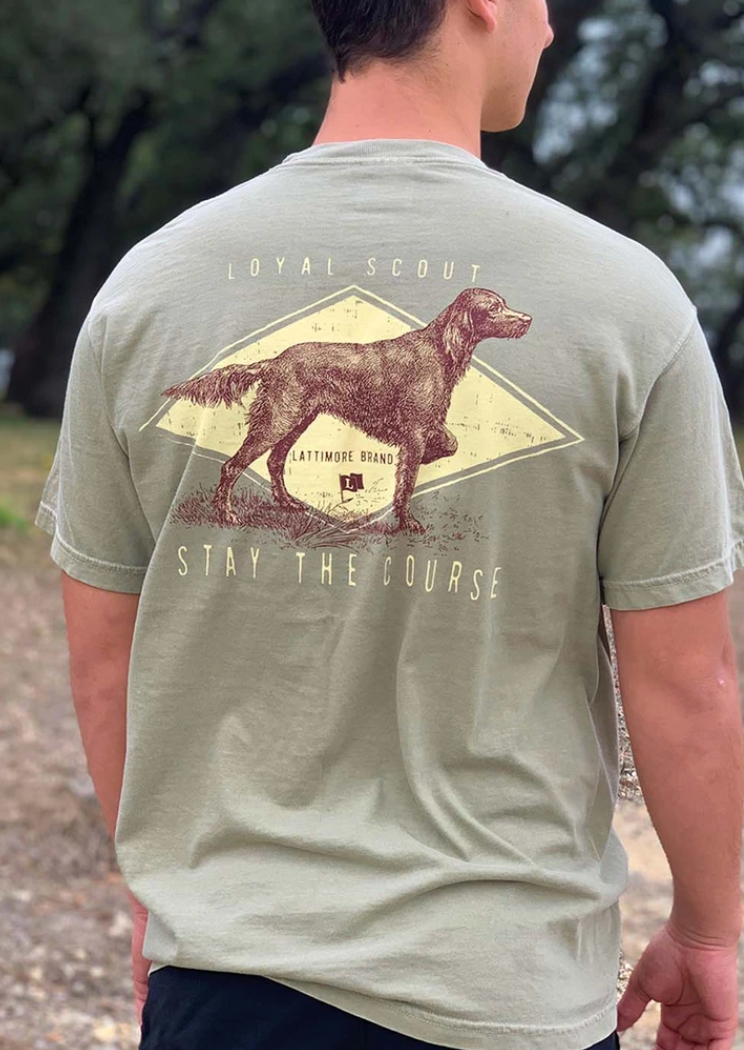 Stay The Course Tee