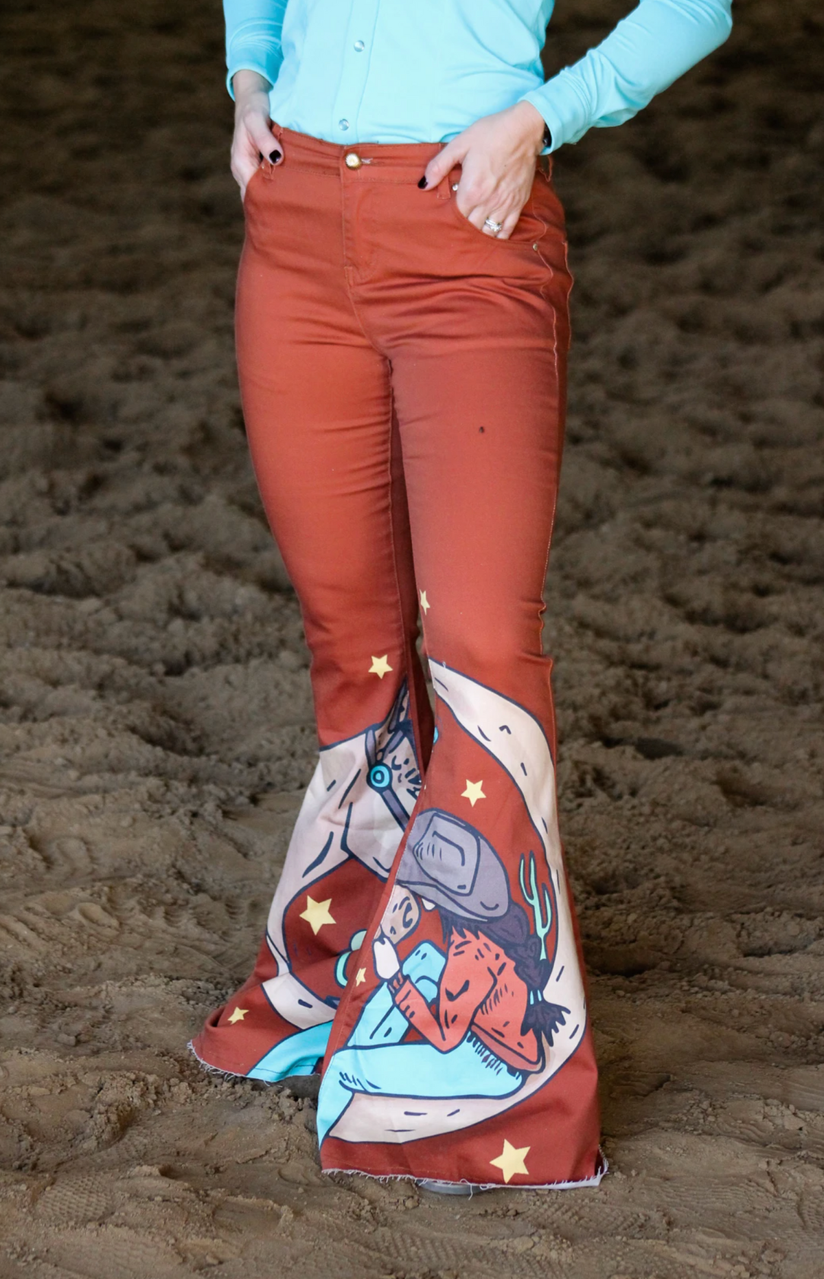 Ranch Dress'n Cosmic Cowgirl Bellbottoms