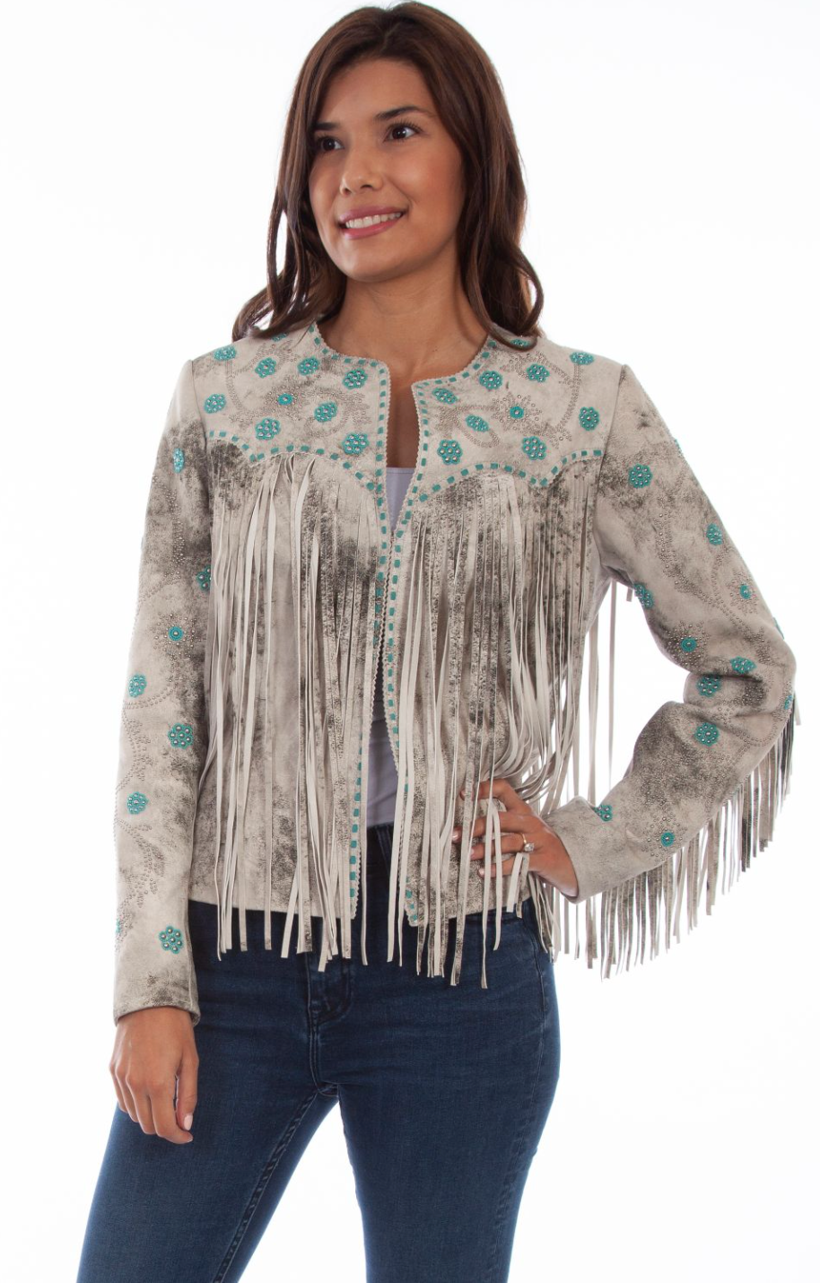Scully Lady May Fringe Jacket