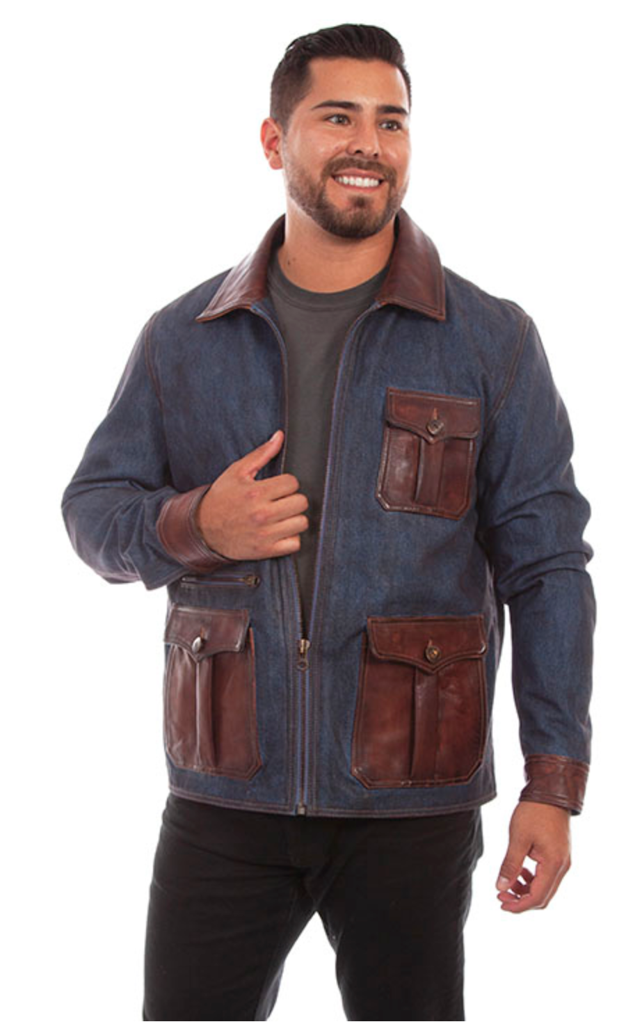Scully Men's Denim Jacket