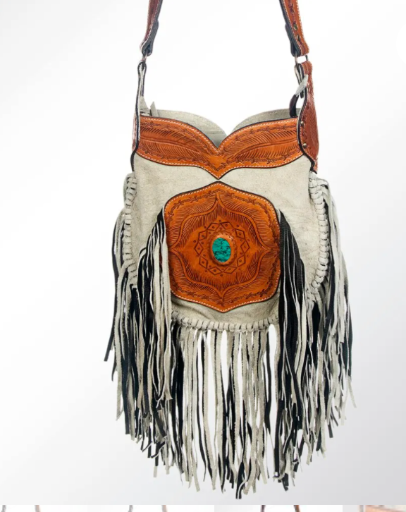 Sugar Land Fringe Crossbody