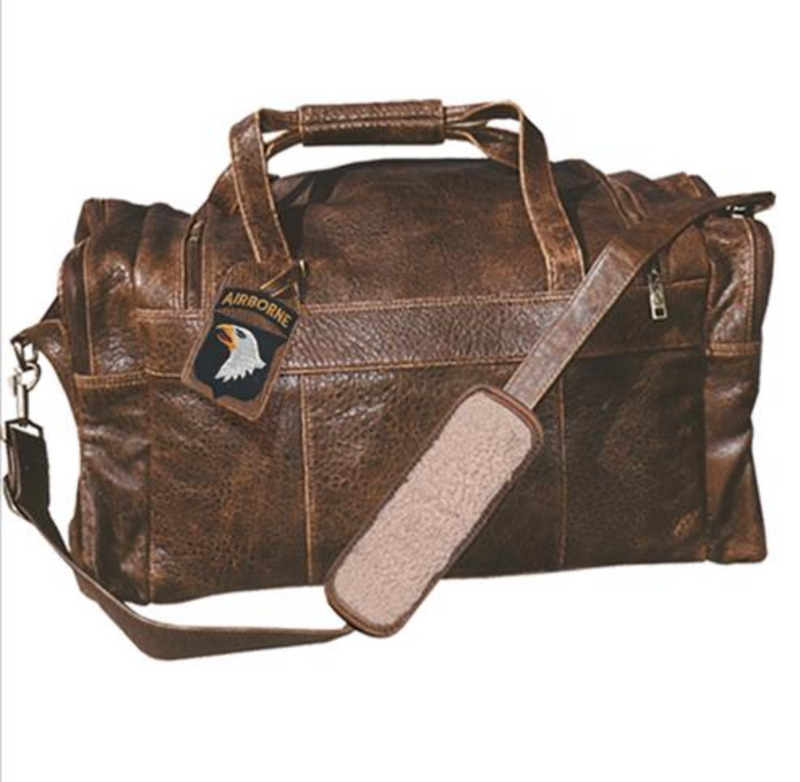 Scully Leather Duffle Bag