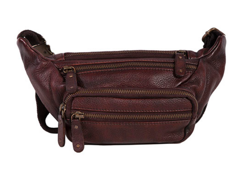 Scully Leather Fanny Pack