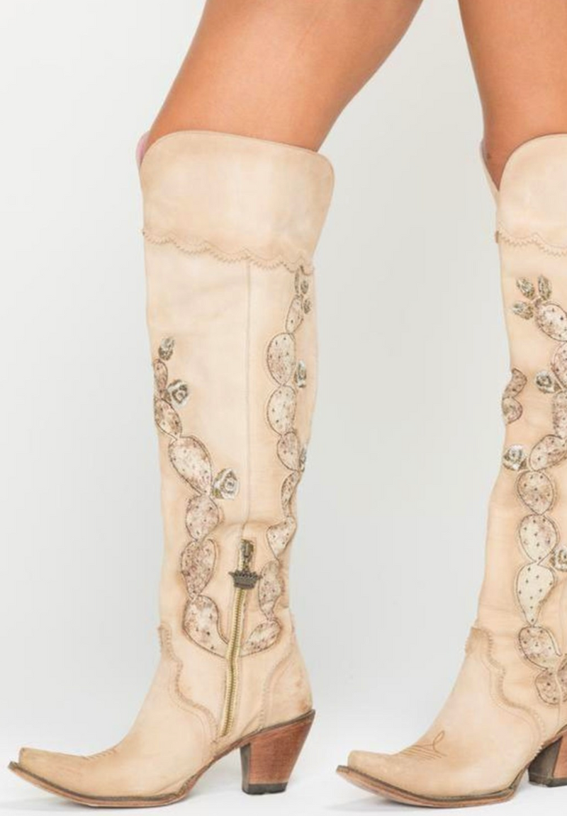 Junk Gypsy Lane Cactus Knee High Boot