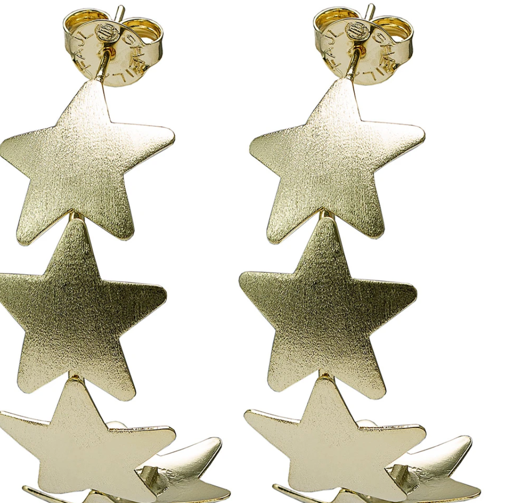 Aaron Star Earrings