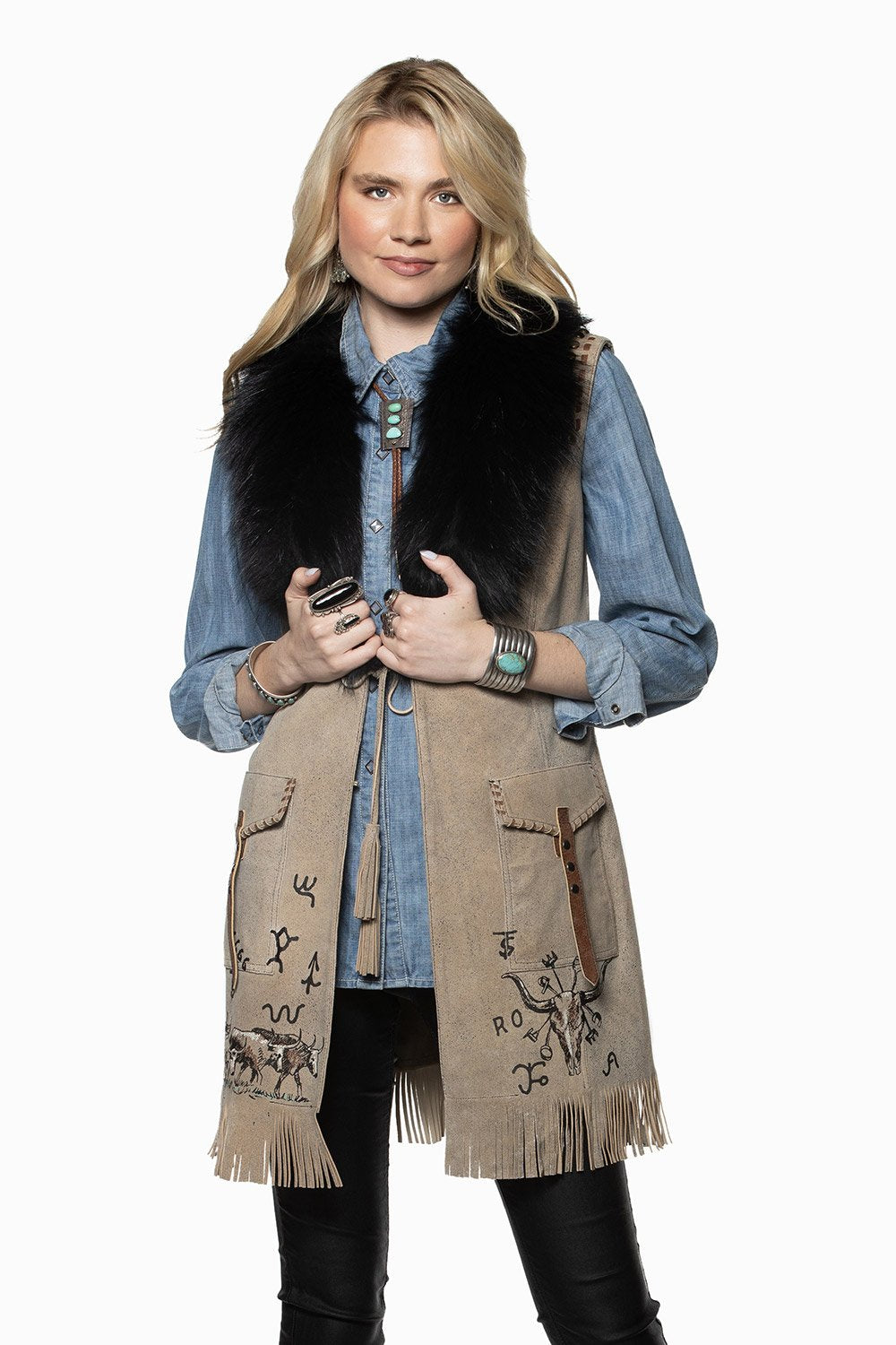 Double D Ranch Cattleman Vest