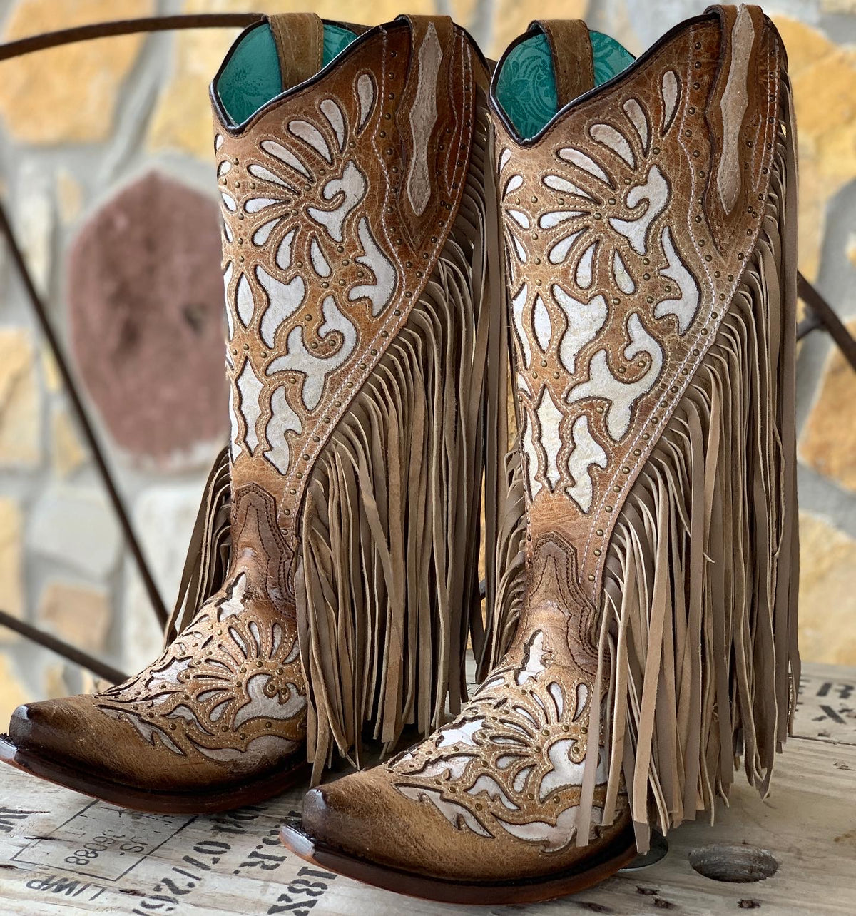 Corral Fringed Hussy Boot