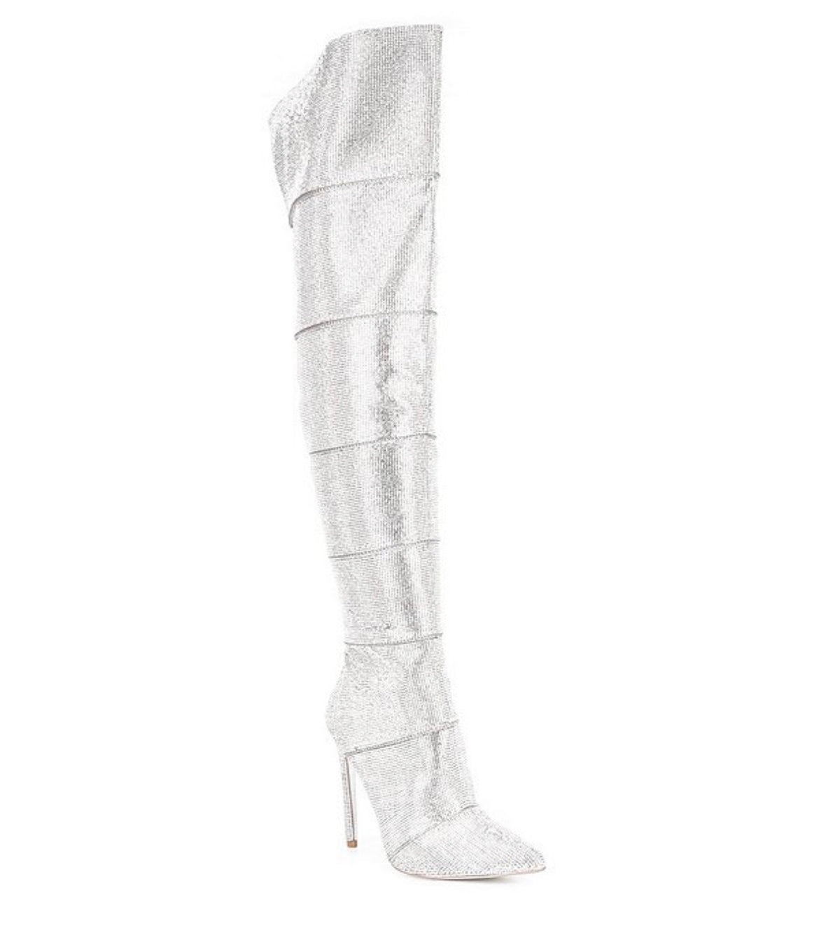 Steve Madden Wonders Rhinestone Knee High Boot