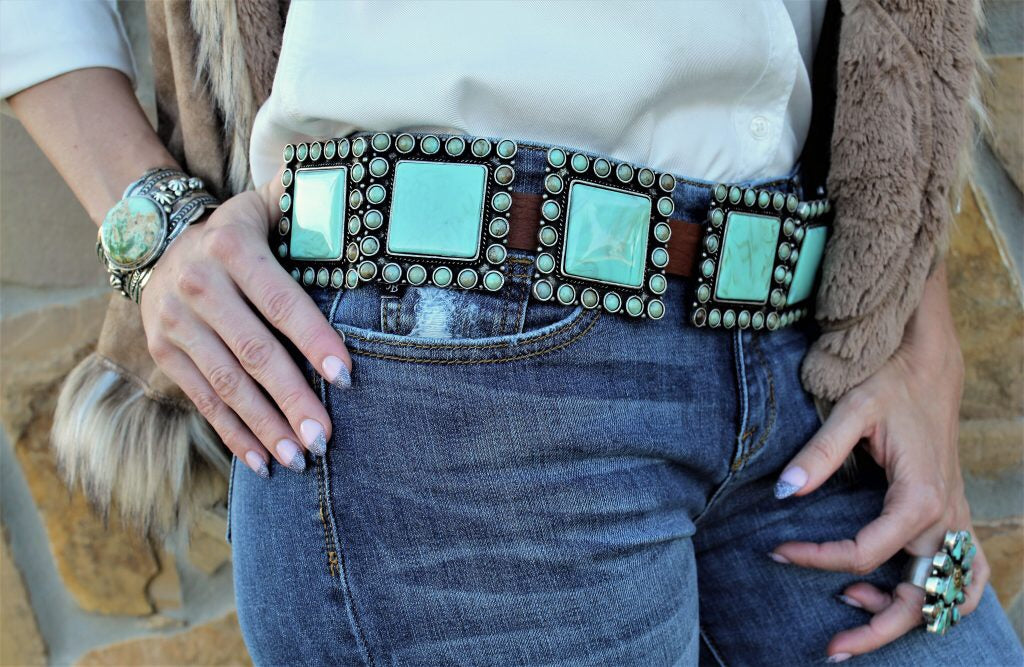 Double D Ranch Four Corners Belts