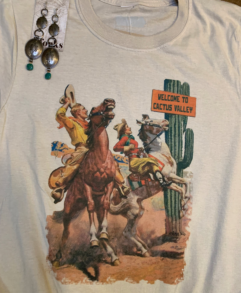Welcome to Cactus Valley Graphic Tee