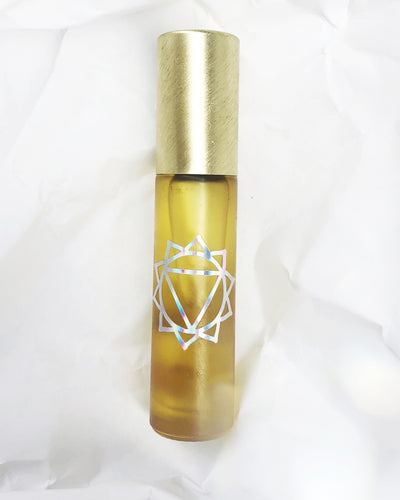 Power - Rollerball with Citrine Gemstones