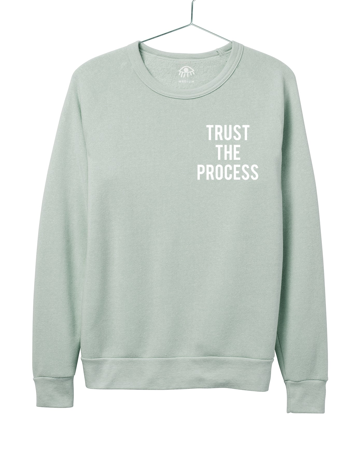 Trust the process Women's Crewneck