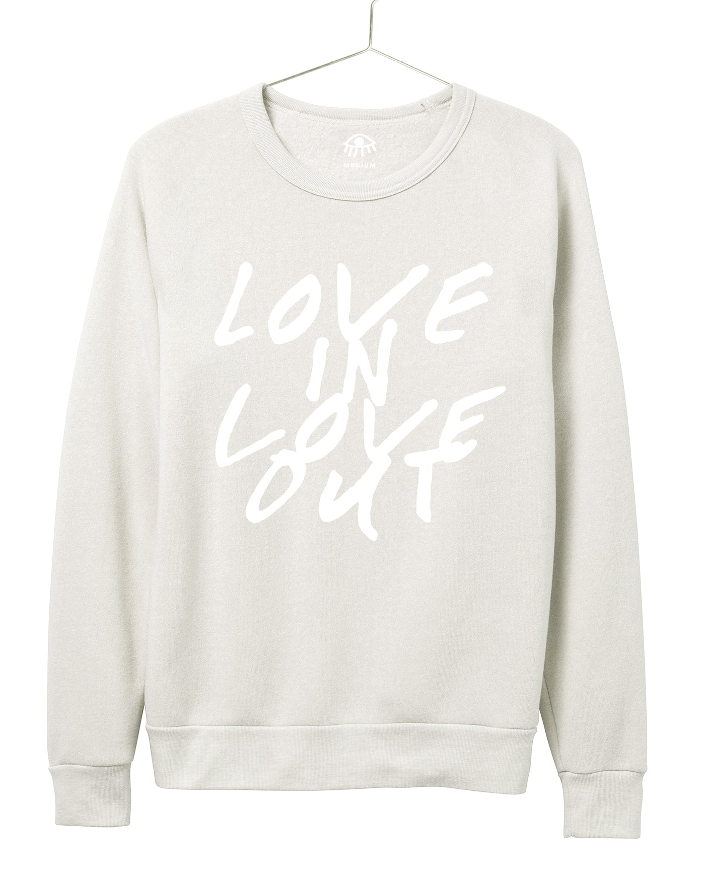 Love in Love out Women's Crewneck