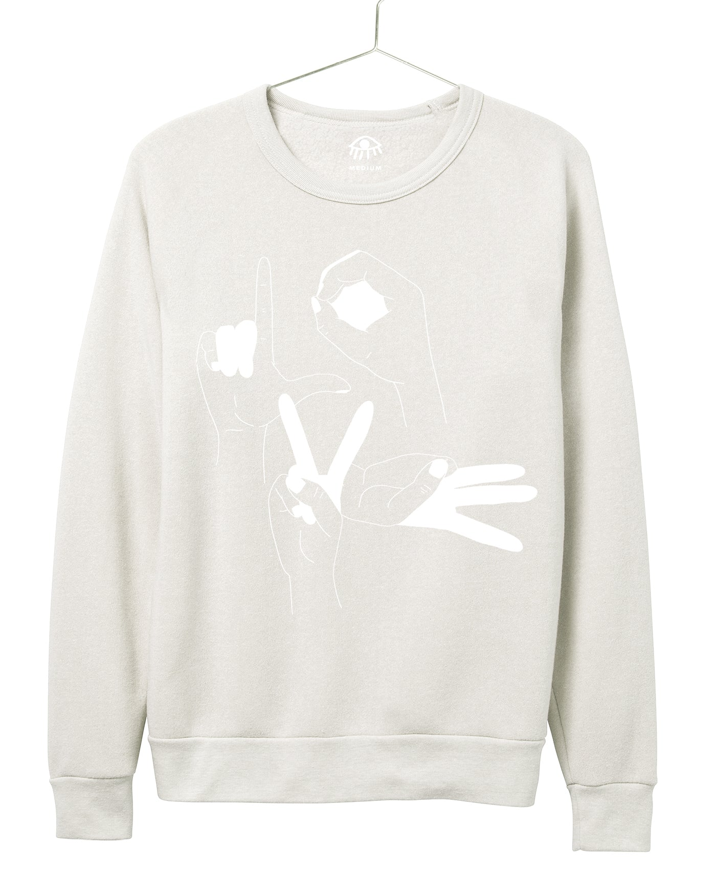 Love Mudra Women's Crewneck