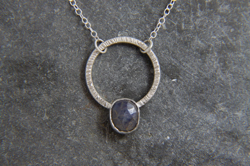Copy of Blue Sapphire Necklace