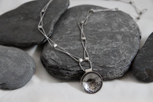 Stormy Seas Statement Chain Pendant