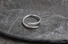 Load image into Gallery viewer, Hammered Adjustable Wrap Ring
