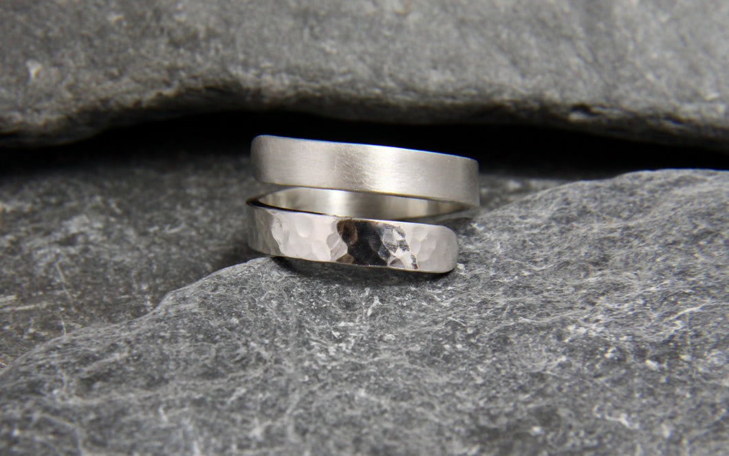 Reflections on The Sea Adjustable Wrap Ring