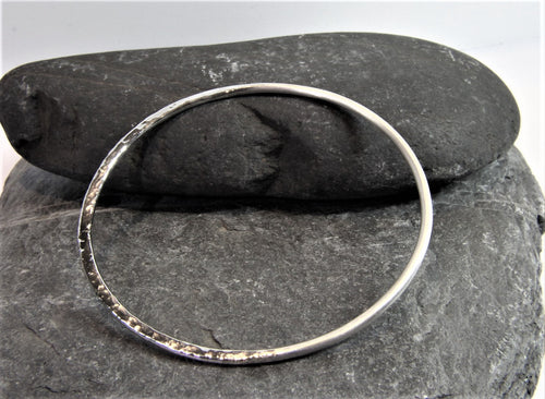 Reflections on the Sea Bangle - Lucy Symons Jewellery