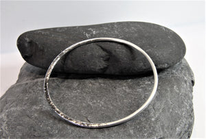 Custom order for Jill - Reflections on the Sea Bangle x 2