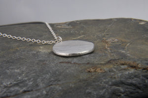 Reflections on the Sea Pebble Pendant