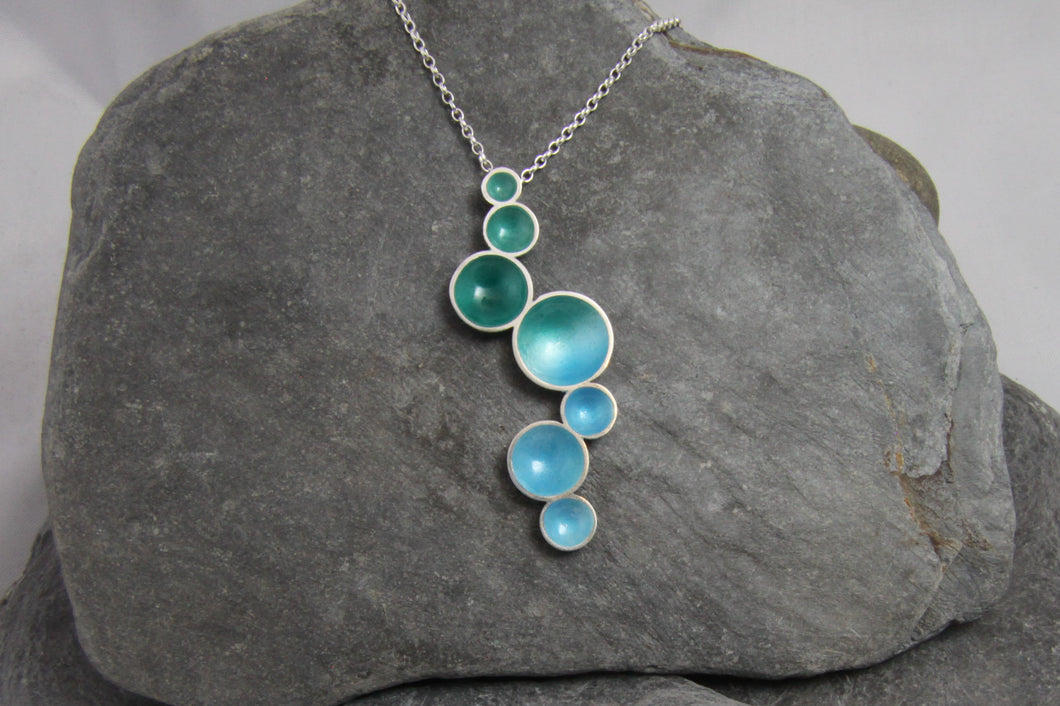 Rock Pool Long Pendant