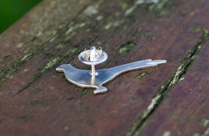 Pheasant Lapel Pin - Lucy Symons Jewellery