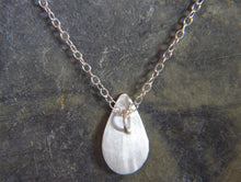 Load image into Gallery viewer, Reflections on the Sea Tear Drop Pendant - Lucy Symons Jewellery