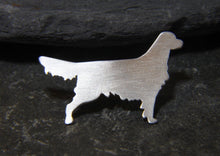 Load image into Gallery viewer, Golden Retriever Lapel Pin - Lucy Symons Jewellery