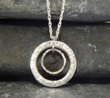 Load image into Gallery viewer, Double Circle Pendant - Lucy Symons Jewellery