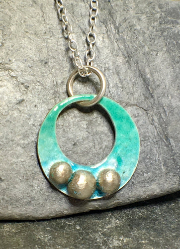 Rock Pool Pendant - Lucy Symons Jewellery