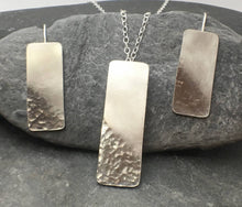 Load image into Gallery viewer, Reflections on the Sea Rectangular Pendant - Lucy Symons Jewellery