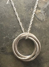 Load image into Gallery viewer, Entwined Ring Pendant - Lucy Symons Jewellery