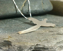 Load image into Gallery viewer, Pheasant in Flight Pendant - Lucy Symons Jewellery