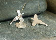 Load image into Gallery viewer, Pheasant in Flight Cufflinks - Lucy Symons Jewellery