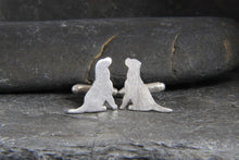 Load image into Gallery viewer, Labrador Retriever Cufflinks - Lucy Symons Jewellery